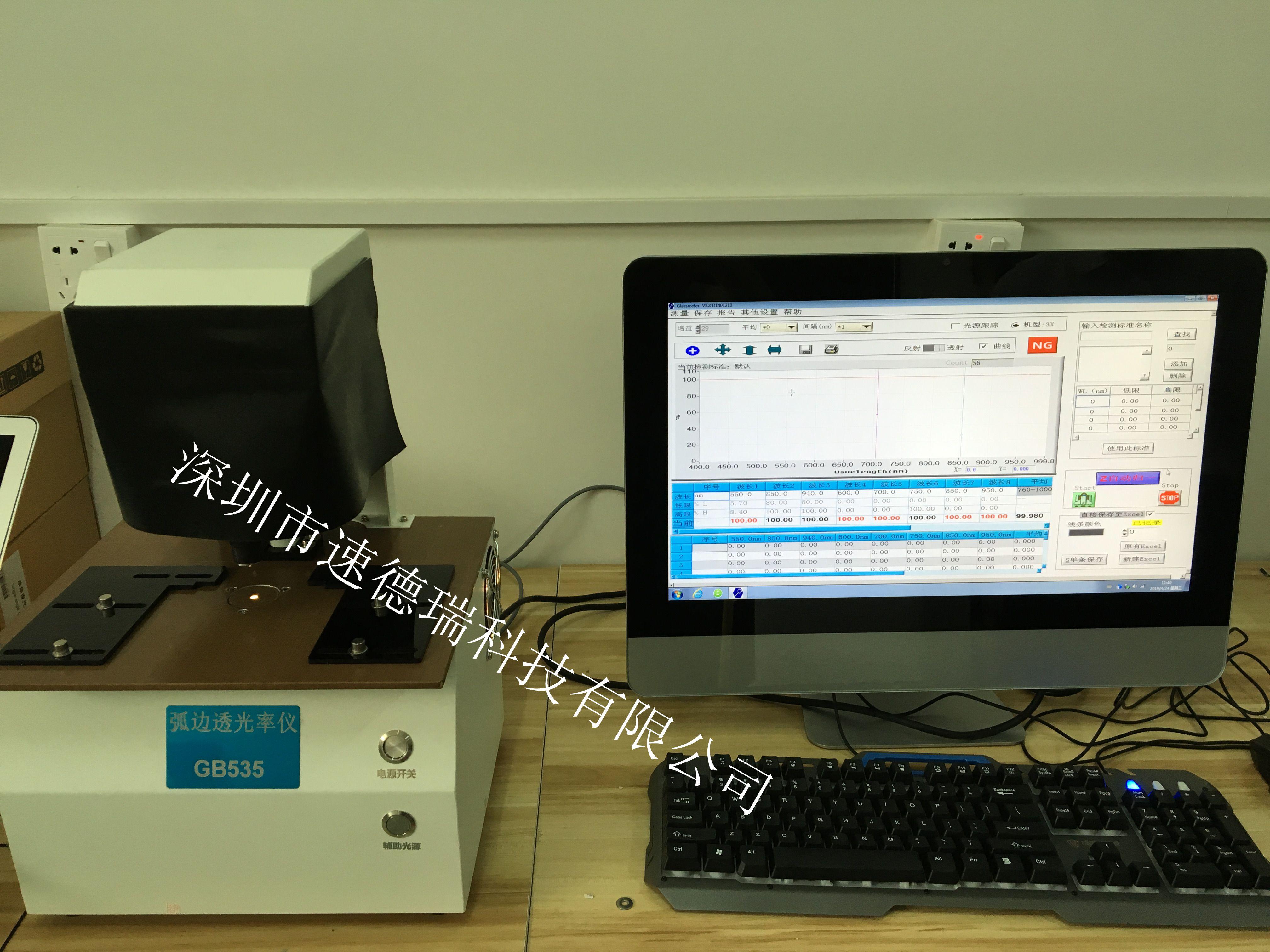 热烈庆贺我司新品上市-GB535弧边微孔透光率仪