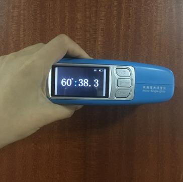光泽度测试仪测量高光和亚光