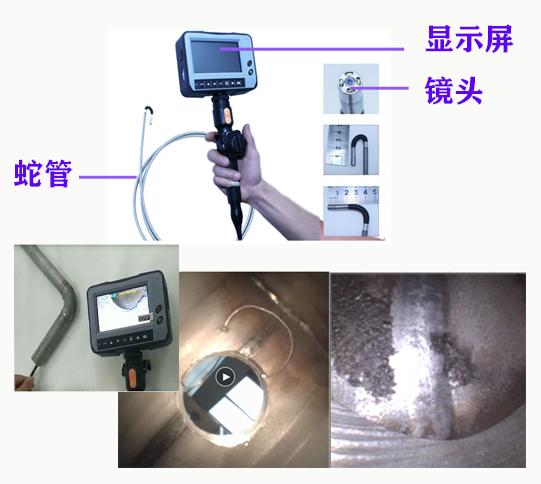 工业内窥镜检修变电设备